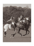 Polo In The Park I Premium Giclee Print by Ben Wood