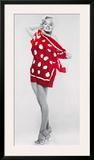 Marilyn at the Beach Prints by Bert Reisfeld