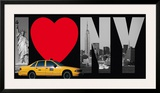 I Love New York Poster by  Torag