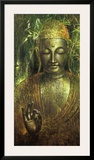 Buddha in Green l Posters by Wei Ying-wu