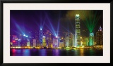 Victoria Harbour by Night Posters by Scott E. Barbour