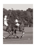 Polo In The Park IV Premium Giclee Print by Ben Wood