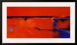 Coastal Horizon I Framed Art PrintPeter Wileman