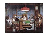 Friend In Need Reproduction giclée Premium par Cassius Marcellus Coolidge