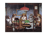 Friend In Need Stampa giclée premium di Cassius Marcellus Coolidge