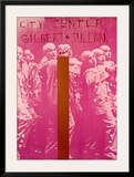 Gilbert And Sullivan Poster by Jim Dine