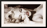Reclined Marilyn Art by Frank Ritter