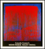 Night Swing Posters by Pat Steir