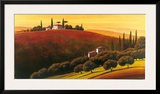 Tuscan Skyline I Prints by  Cimino