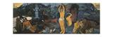 D'où venons-nous Que sommes-nous Où allons-nous Reproduction giclée Premium par Paul Gauguin