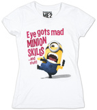 Juniors: Despicable Me 2 - Minion Skills T-Shirt