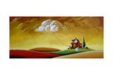House and Cloud Photographic Print by Cindy Thornton