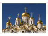 The Cathedral of the Annunciation in the Moscow Kremlin, Moscow, Russia Premium Giclee Print