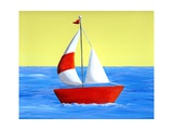 Lil Sailboat Photographic Print by Cindy Thornton
