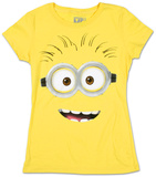 Juniors: Despicable Me 2 - Big Face T-shirts
