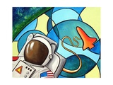 Space Walk Photographic Print by Cindy Thornton
