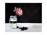 Jar & Flower Poster por Cindy Thornton