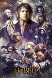 The Hobbit - The Desolation of Smaug Collage Plakát
