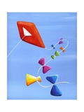 Lets Go Fly a Kite Photographic Print by Cindy Thornton