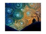 Crépuscule  Reproduction photographique par Cindy Thornton