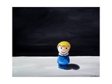 Little People Toy Prints by Cindy Thornton