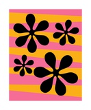 Groovy Flowers I Photographic Print by Donna Mibus