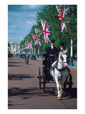 Parade with coach, London, United Kingdom of Great Britain Giclee-tryk i høj kvalitet