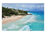 Crane Beach, St. Philip, Barbados, Caribbean Lámina giclée premium