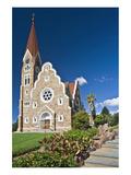 Christ church in Windhoek, Namibia Giclee-tryk i høj kvalitet