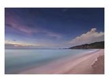 Grand Anse beach, La Digue Island, Seychelles Giclee-tryk i høj kvalitet