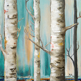 Birch Forest I Prints by Patricia Quintero-Pinto