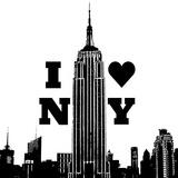 I Heart NY Posters by Emily Navas