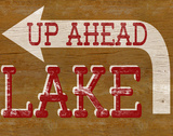 Lake Sign Prints