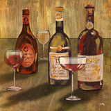 Bottle of Wine II Print by Elizabeth Medley