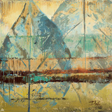Rain Leaves I Print by Patricia Quintero-Pinto