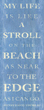 Stroll on the Beach Posters