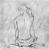 Nude Sketch II Prints by Patricia Quintero-Pinto