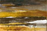 Stratscape in Gold Reprodukcje autor Lanie Loreth