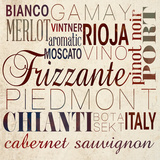 Wine Words I Posters