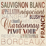 Wine Words II Art