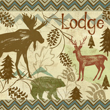 Welcome Lodge II Prints by Rebecca Lyon