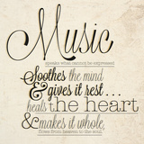 Music Speaks Prints