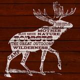 Moose Text Prints