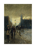 Rainy Streets, New York Premium Giclee Print by Guaccimanni Alessandro