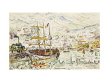 Le Port de Saint-Malo Giclee Print by Paul		 Signac