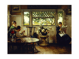 Mother, Mercie and Mary Giclee Print by Edmund Charles		 Tarbell