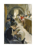 The Lacemakers Print by Anders Leonard		 Zorn