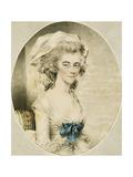 Portrait of Mrs. Boyd Giclee Print by John Downman