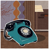 Telephone Prints by Bruno Pozzo