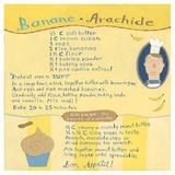 Banana-Peanut Cupcake Prints by Céline Malépart